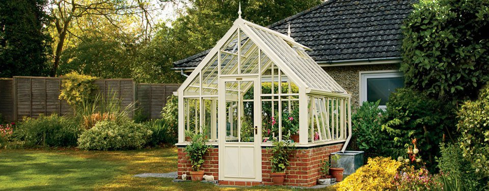 Metal Victorian Plant House
