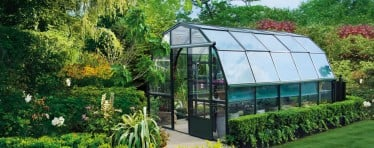 A Spacious Hartley Botanic Highgrow Aluminium Greenhouse