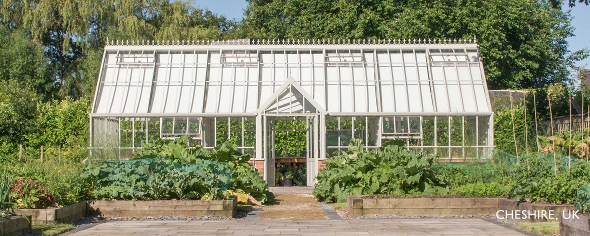 White Hartley Botanic Victorian Grand Lodge Greenhouse