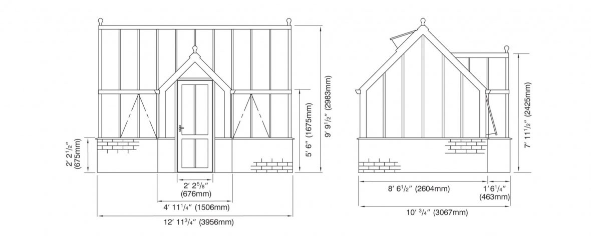 Victorian Terrace Elevations