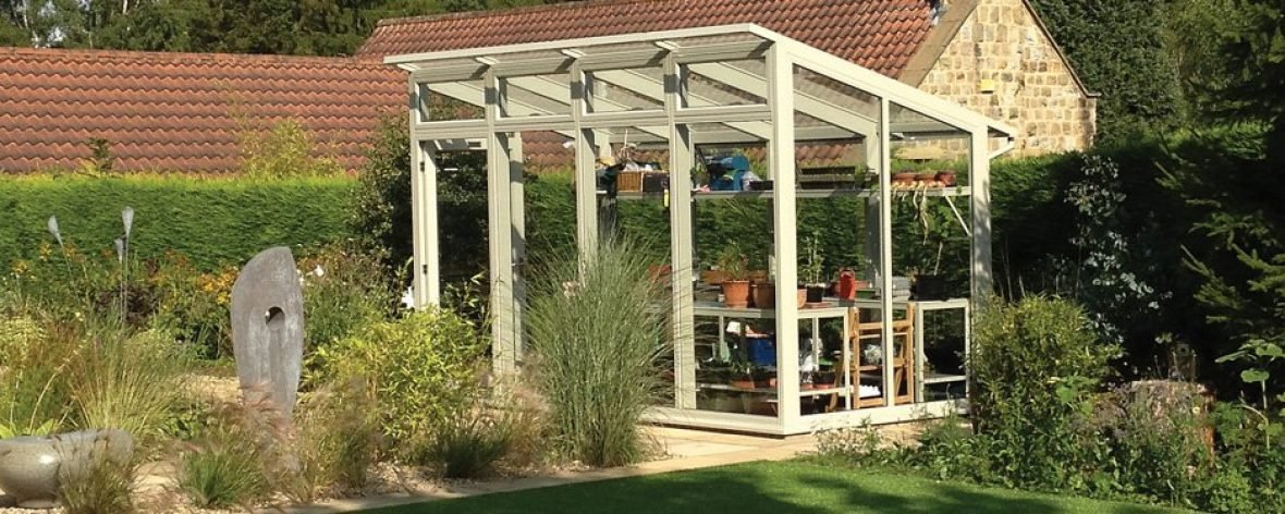 White Opus 2 Glass To Ground Greenhouse From The Hartley Botanic Modern Horticulture Range