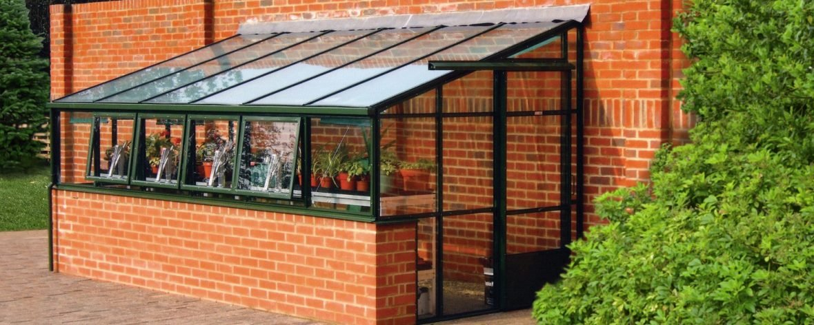 Bespoke Lean-To Greenhouse From The Hartley Botanic Tradition Range