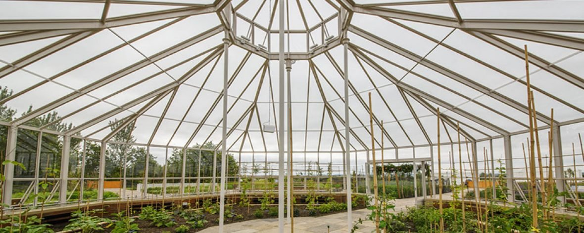 RHS Hyde Hall - A Bespoke Greenhouse Interior Designed by Hartley Botanic