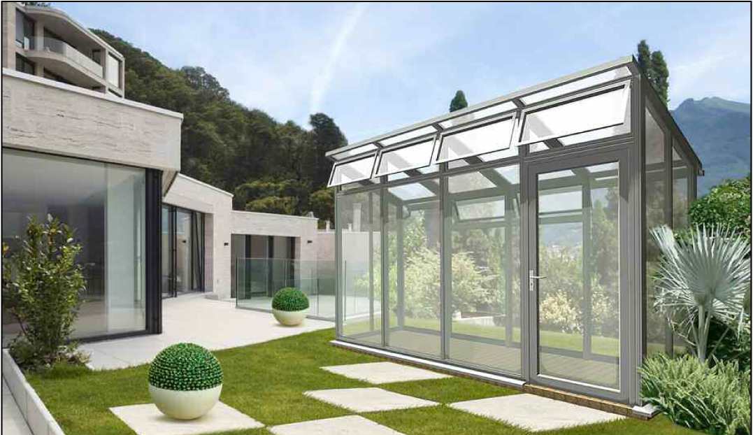 New Horizon: The Glasshouse For The Thoroughly Modern ... |Contemporary Greenhouses