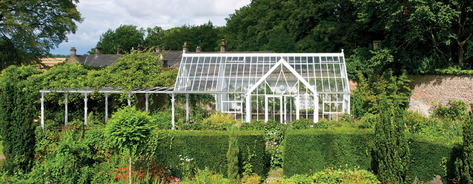 The architectural glasshouse range by hartley botanic for Architectural greenhouse