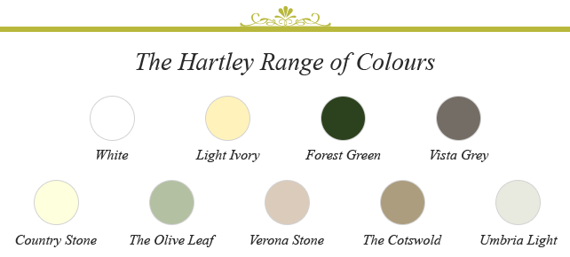 Hartley Botanic Range of Colours