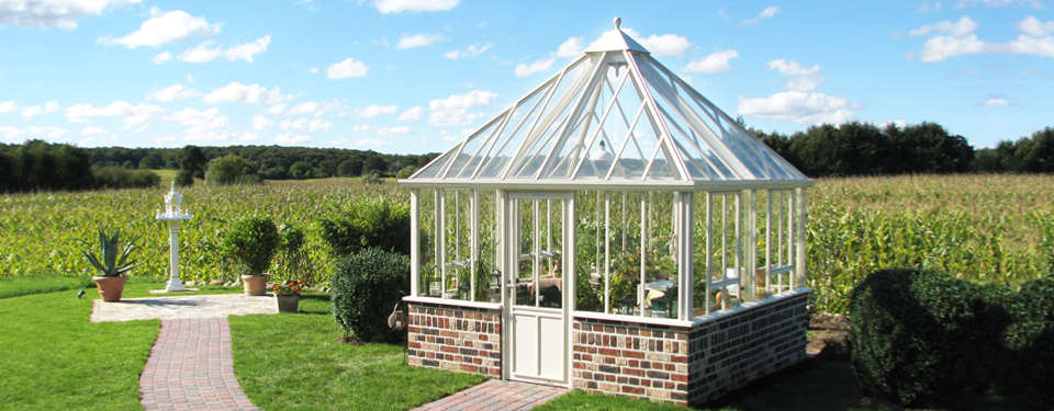 The Grange Glasshouses High 4 Sided Greenhouses By