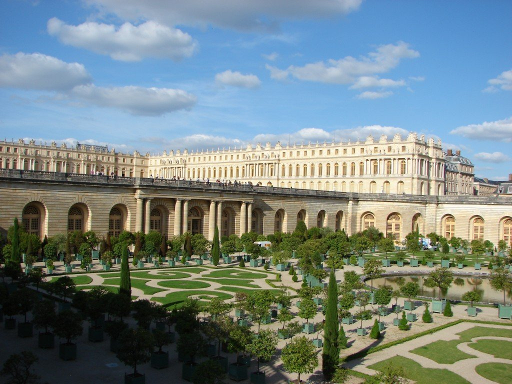"""Garden-orangerie Exterior of the Palace of Versailles"" by Copyleft."