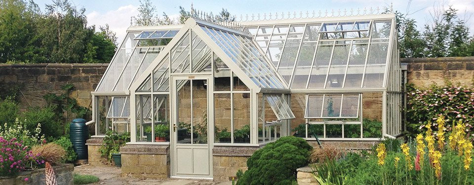 An example of a bespoke greenhouse