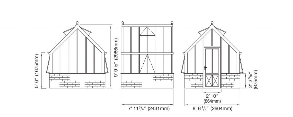 Paxton elevations