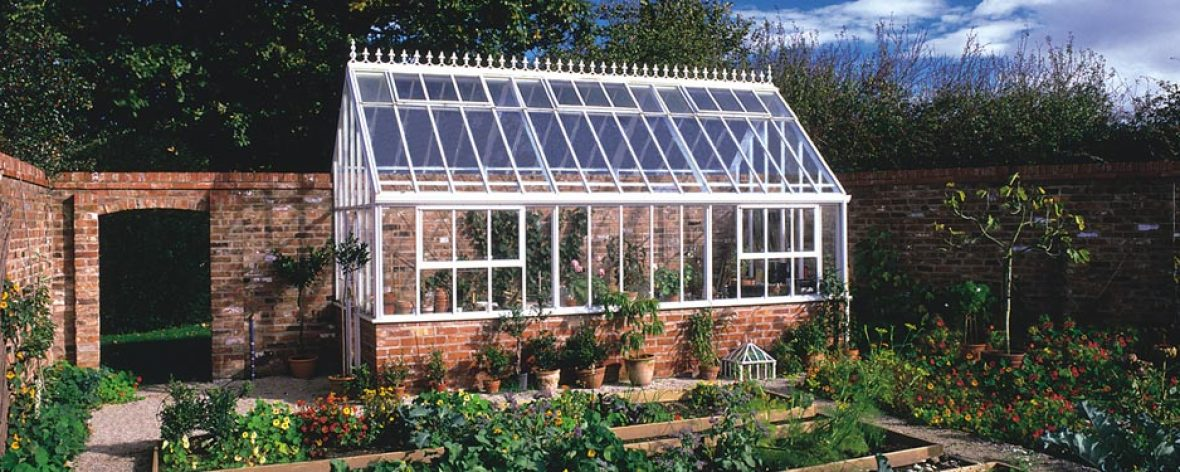 Lean To Greenhouse : Bespoke lean to greenhouse hartley botanic