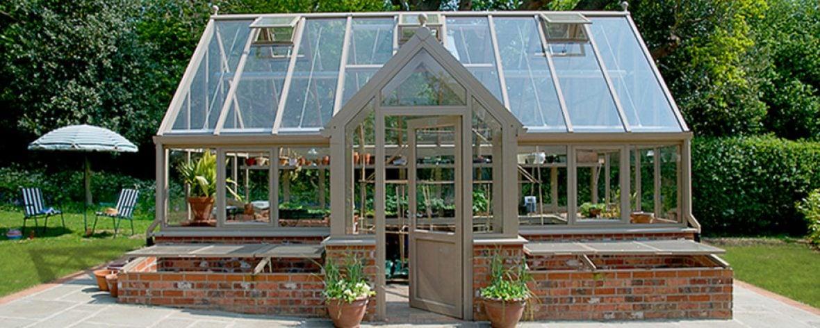 Modern horticulture glasshouse 3