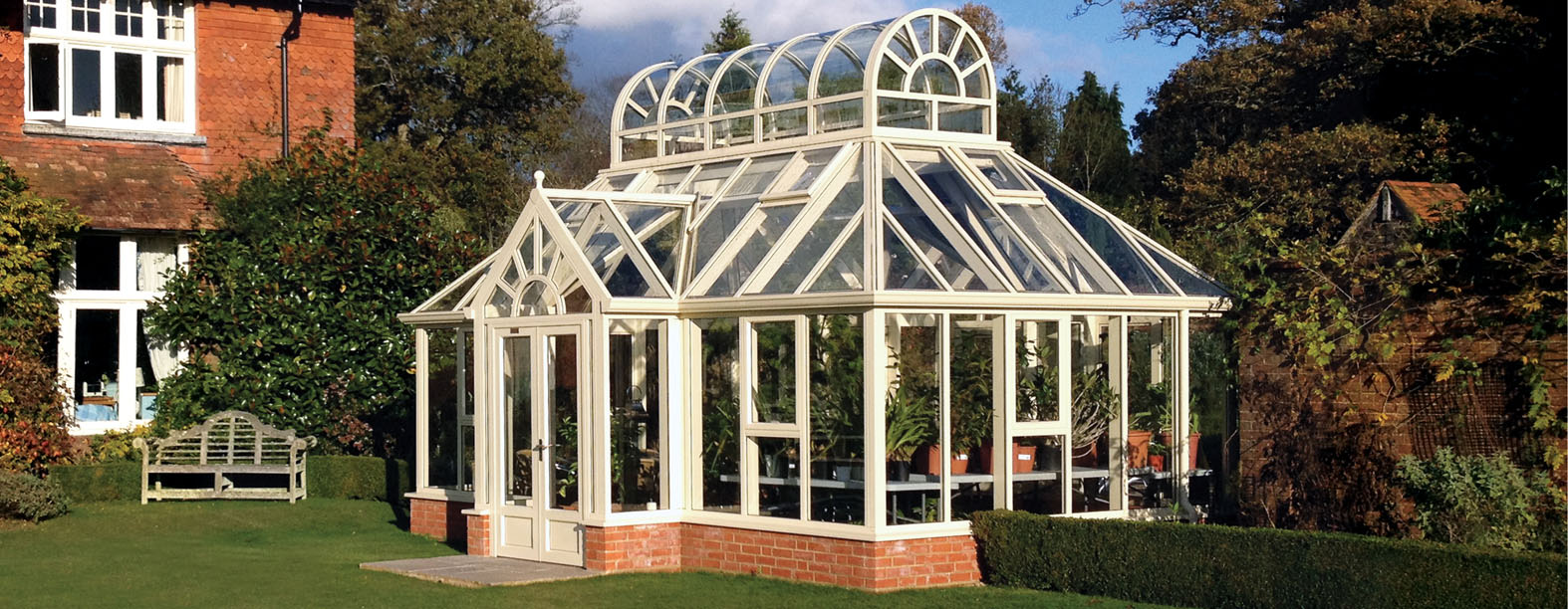 Greenhouse Attached To House Conservatory
