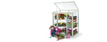 Patio greenhouse perfect for the family