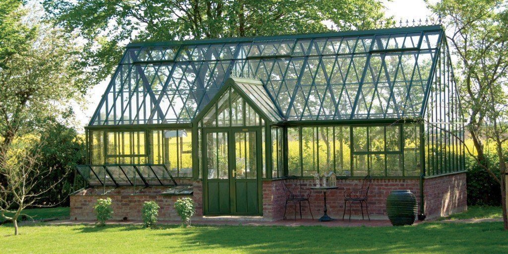 Aluminium metal greenhouse