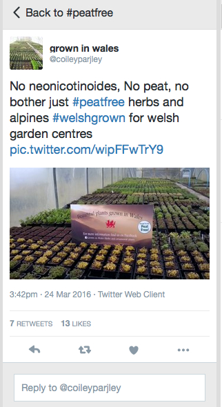 Visionary plant growers on Twitter