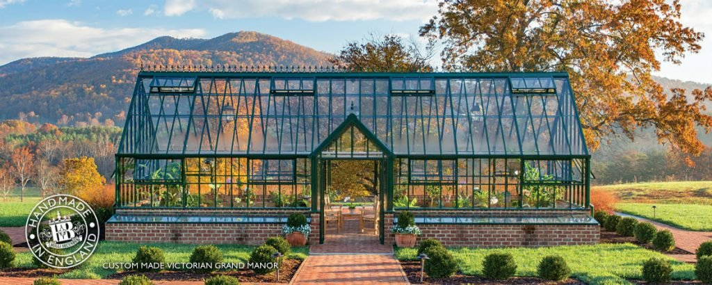 The Hartley Botanic 'Victorian Grand Manor' glasshouse design