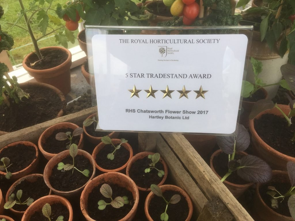 Our 5 star trade stand award